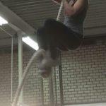 Cécile van Peppel touwklimmen - Frank van Meurs personal training