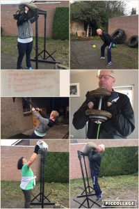 Workout compilatie Céciles & Franks Backyard gym