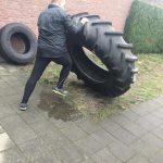 Tire flip personal training - Frank van Meurs