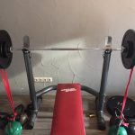 Bench press - Céciles & Franks Backyard gym